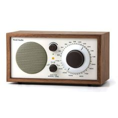 Model One Radio (awesome sound,great price, perfect for the sunroom-just plug in your phone & go or use the radio)