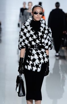 NY Fashion Week- top trends for Fall 2013: Houndstooth: The classic four-pointed print made an especially strong showing on fall runways, with designers such a Michael Kors and Tommy Hilfiger using the motif.