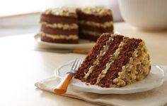 Try this German Chocolate Cake recipe, made with HERSHEY'S products. Enjoyable baking recipes from HERSHEY'S Kitchens. Bake today.