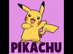 How to Draw Pikachu Saying Pika After Winning a Battle - How to Draw Step by Step Drawing Tutorials