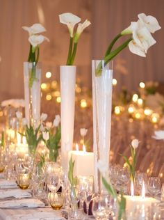 1000 Images About Tall Centerpieces On Pinterest Tall