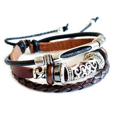 Jewelry+gift+leather+bracelet+man+bracelet+by+casejewelrybracelet,+$8.00: