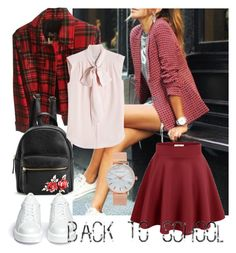 """""""First day at school"""" by zakharova-83 ❤ liked on Polyvore featuring Dolce&Gabbana, MaxMara, Robert Clergerie and Aéropostale"""