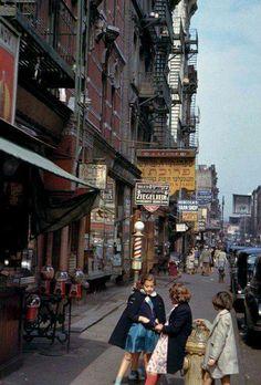 Norfolk Street, NYC 1942