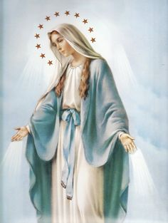 La Virgen Maria Holy Mother of God Blessed Mother Mary, Blessed Virgin Mary, Religious Images, Religious Art, Religious Tattoos, Lady Madonna, Mama Mary, Queen Of Heaven, Mary And Jesus