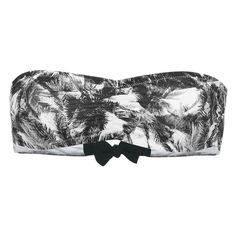 Blandine - Printed Bandeau Bikini Top