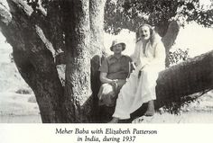Elizabeth Patterson, a disciple of Meher Baba. Elizabeth led a fascinating life; she drove an ambulance on the front during WWI, was a successful insurance executive in the 1920s and 30s, and accompanied a scientific expedition on the Soviet ice breaker Malygin, going within 400 miles of the North Pole, in 1931. She was one of the first Western mandali, helped to found and endow the Myrtle Beach Center, and was driving that fateful day in Praque, OK...