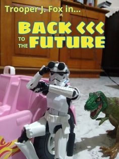 Back to the Future #starwars #stormtrooper #dinosaur #toy #toys #backtothefuture #actionfigures #figureaction #funny #sciencefiction