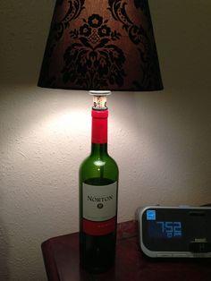 Meyda tiffany personalized wine bottle table lamp home decorating wine bottle lamps wine bottle table lamp aloadofball Choice Image