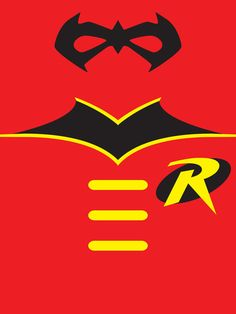 Robin the Boy Wonder Art Print---Needed mask inspiration  for my Robin costume