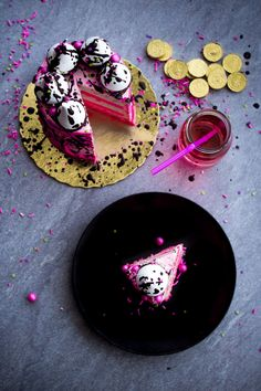 Splash Effect Cake