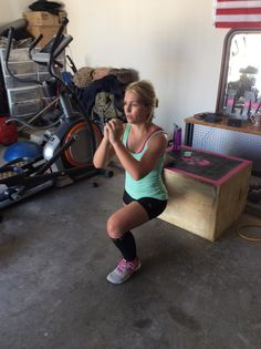 One legged squats: killer booty exercise