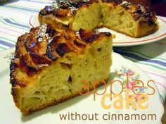 A simple recipe of an Apple cake with a sweet taste and loads of apples in a soft sponge dough that will make your taste buds melts Apple Cake Recipes, Taste Buds, Food To Make, Banana Bread, Cinnamon, Easy Meals, Make It Yourself, Baking, Breakfast