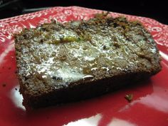Soaked Zucchini Bread :: freshly ground whole wheat flour, yogurt, zucchini, sea salt, eggs, coconut oil, honey, cinnamon, vanilla, and baking soda.