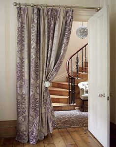 Curtains are such an important element to complete any design. Sometimes when we pull down the curtains to wash them, we feel like there is a major missing piece of the house design. Curtains have man Doorway Curtain, Door Curtains, Gypsy Curtains, Closet Curtains, Shower Curtains, Contemporary Curtains, Modern Curtains, Purple Curtains, Colorful Curtains