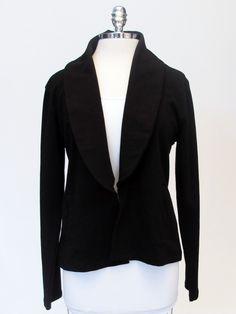 Azura Boutique - Lilla P Terry L/S Shawl Collar Jacket, $141.00 (http://www.shopazura.com/terry-l-s-shawl-collar-jacket/)