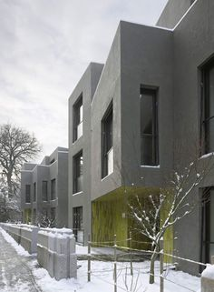 Miller & Maranta . Patumbah Park residential buildings . Zurich  (2) Miller Maranta, Modern Buildings, Zurich, Facade, Multi Story Building, Construction, House, Outdoor, Spaces