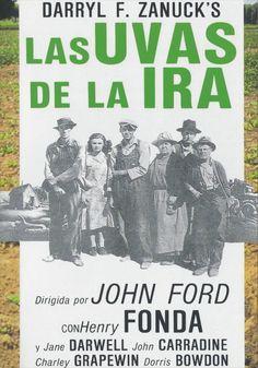 Las Uvas de la Ira es una película de solidaridad, de esperanza, de lucha y esfuerzo y de fe, que transcurre en uno de los momentos más oscuros, difíciles y desesperanzadores de la historia de los EE.UU, la Gran Depresión de los años 30 del siglo XX. Las Uvas de la Ira (1940) de John Ford adaptación de la novela de John Steinbeck