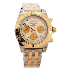 Breitling Chronomat 41 Automatic Steel & 18kt Rose Gold Men's Luxury CB014012/A723 Watch