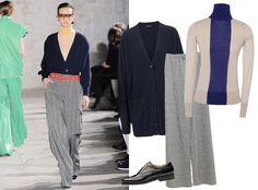 9Ways to Style a Turtleneck for Fall - With Another Knit  - from InStyle.com