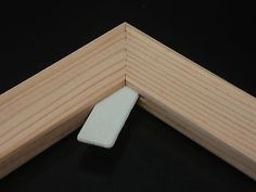 Pairs of Standard Canvas Frames Stretcher Bars 18mm Deep All Sizes 6 choisir size of each corner