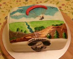 Paragliding cake