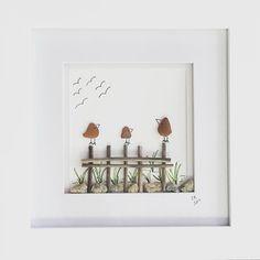 New art! #seaglass #seaglassart #naturespurecreations #spring #birds #sea #beach #instaart #art #gallery #artgallery #gracesboutiqueandgallery #shopsmall #shoplocal #shopamesbury #amesbury #amesburyma