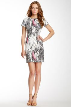 Rachel Roy | Abstract Print Dress | Nordstrom Rack