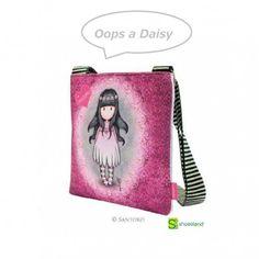 """Si eres fans de Gorjuss este bolso bandolera de la colección """"Oops a Daisy"""" te va a enamorar !!  Guarda tus secretos con un bolso dulce y original. Descubre el resto de la colección """"Oops a Daisy"""""""