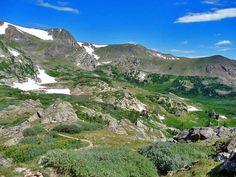 ProTrails | Hessie Trailhead: King Lake - High Lonesome - Devils Thumb Lake Loop, Photo Gallery, Indian Peaks Wilderness Area, Colorado