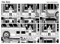 'The Twilight Zone' meets M.C. Escher meets Dali in the philosophical comic strip 'the bus'   Dangerous Minds