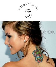 Tattoo Rule No. 6: Don't Copy a Celebrity's Tattoo. Just Don't.