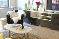 Living Room decor idea, home decor inspiration, apartment living inspiration