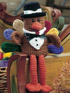 Crochet - Holiday & Seasonal Patterns - Thanksgiving Patterns - Pilgrim Turkey