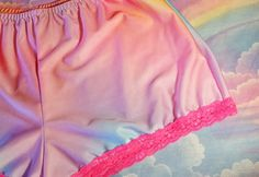 Rainbow hotpants gay pride clothing lgbt fairy kei by missalphabet