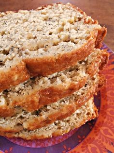 A Moist Pineapple Banana Bread recipe takes a tropical twist on classic banana bread, using crushed pineapple and coconut.