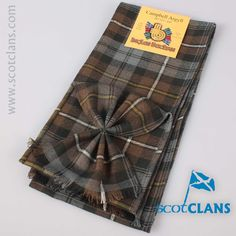 Campbell Weathered Tartan Mini Sash.. Free worldwide shipping available