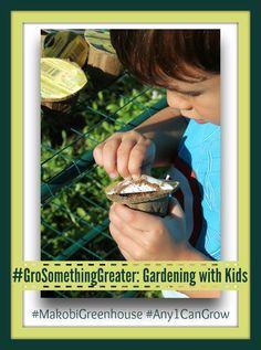 Gardening With Kids #GroSomethingGreater #MakobiGreenhouse http://makobiscribe.com/gardening-kids-grosomethinggreater-makobigreenhouse/