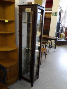 Cabinet With Glass Shelves For Home / Retail Shop Display £45