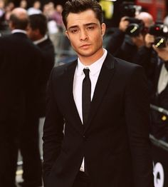 Ed Westwick. His accent makes him even more attractive!