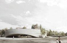 Public library by And-ré  (Setúbal, Portugal) #architecture