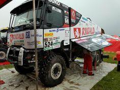 Gert Huzink-Renault-Dakar 2017. Helaas einde in 2e etappe.