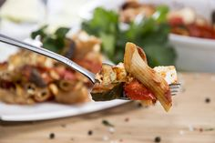 Lidia Bastianich's Baked Whole Wheat Ziti With Chicken and Zucchini: Add protein and veggies to a pasta dish to make it healthier and keep you fuller longer.