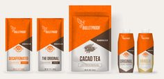 New Logo, Identity, and Packaging for Bulletproof by Emblem