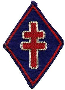 1st Free French Division Division, Free In French, France, World War Ii, Wwii, Symbols, 17 Mai, Military, Badges