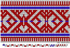 Inkle Weaving Patterns, Loom Weaving, Tapestry Weaving, Finger Weaving, Inkle Loom, Tablet Weaving, Cross Stitch Designs, Crochet Patterns, Chart