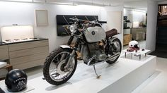 The eyewear brand and custom bike shop rebuild a 1978 BMW to launch their collaborative line of riding accessories