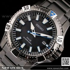 BUY Seiko Solar 200m All Black Driver Sports Men s Watch SNE281P1 ae01f48ad0