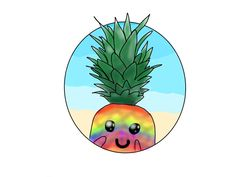 For @IM A PINEAPPLE. I hope ya like your profile picture :3