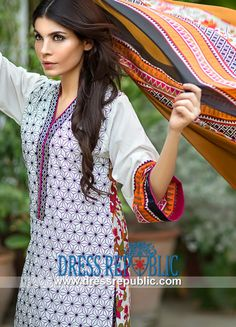 Sana Safinaz Latest Lawn Suits for Eid 2014 5B Design  Buy Online Sana Safinaz Latest Lawn Suits for Eid 2014 5B Design in Gold Coast, Adelaide and Canberra, Australia. (Complete Sets in Wholesale Prices also Available). by www.dressrepublic.com